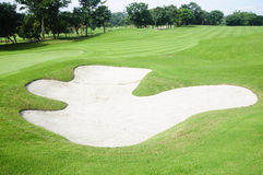 Golf Greens Stock Photography