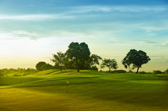 Golf Greens Royalty Free Stock Photos