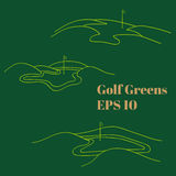 Golf greens Stock Photo