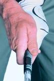 Golf-Griff Stockfoto