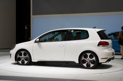 Golf GTI de Volkswagen Images libres de droits