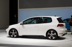 Golf GTI di Volkswagen Immagini Stock Libere da Diritti