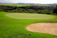 Golf in Hawaii Stock Photos
