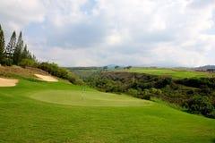 Golf in Hawaii Stock Image