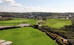 Golf hermoso Imagen de archivo libre de regalías