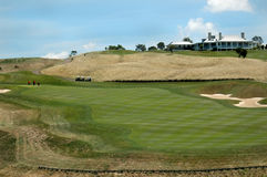 Golf - het Clubhuis Royalty-vrije Stock Afbeelding