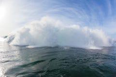 Golf het Exploderende Zwemmen Royalty-vrije Stock Afbeelding