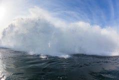 Golf het Exploderende Zwemmen Stock Fotografie