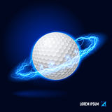 Golf high voltage Stock Images