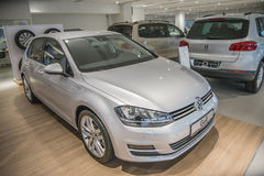 Golf Highline 140 TSI-HANDELING DSG Royalty-vrije Stock Foto