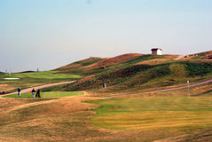 golf hill Obraz Royalty Free
