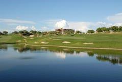 Golf hole Stock Photography
