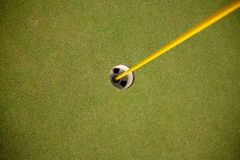 Golf Hole Royalty Free Stock Photo