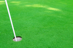 Golf hole Royalty Free Stock Image