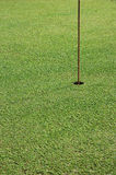 Golf hole Royalty Free Stock Photos