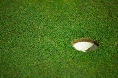 Golf hole Stock Image