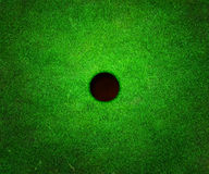 Golf Hole Background Royalty Free Stock Photography