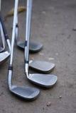 Golf holes Stock Image