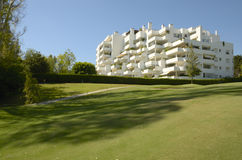 Golf holiday apartments Stock Photography