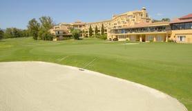Golf hotel Royalty Free Stock Image