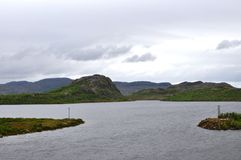 Golf i Nordeuropa Fotografering för Bildbyråer