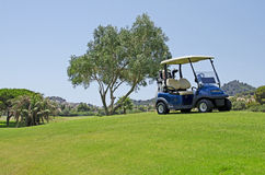 Golf i Spanien Royaltyfria Foton