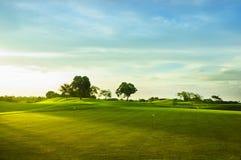 Golf i verdi Immagine Stock Libera da Diritti