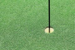 Golf il foro Immagini Stock Libere da Diritti