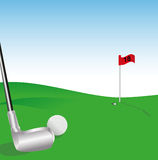 Golf illustration Stock Images