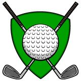 Golf Insignia Stock Image