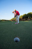 Golf instructions Royalty Free Stock Photo