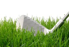 Golf Iron Royalty Free Stock Photography