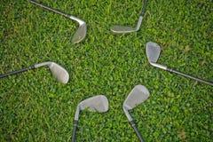 Golf Irons Stock Photography