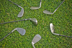 Golf Irons Royalty Free Stock Image