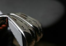 Golf Irons Stock Photography