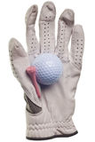 Golf isolated Stock Photography