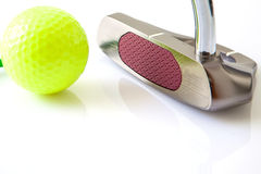 Golf items Stock Image