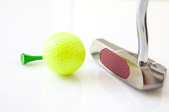Golf items Stock Photography