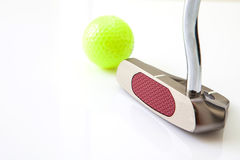 Golf items Royalty Free Stock Image