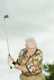 golf jego gry w ostatniej klasie obraz royalty free