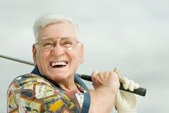 golf jego gry w ostatniej klasie fotografia stock