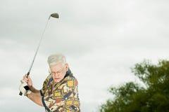 golf jego gry w ostatniej klasie zdjęcia stock
