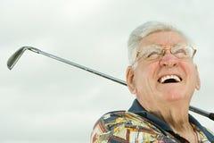 golf jego gry w ostatniej klasie obrazy stock