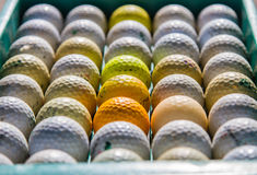 Golf jest sportem który jest popularny i dobry dla zdrowie dookoła świata fotografia stock