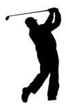 Golf-Joueur Photos libres de droits