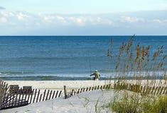 Golf-Küste-Szene stockfotos