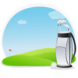 Golf kit Stock Photo