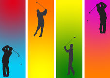 golf koloru Fotografia Royalty Free