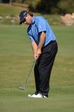 Golf - l'ANGLAIS de Brian DAVIS Image libre de droits