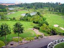 Golf land Royalty Free Stock Photos